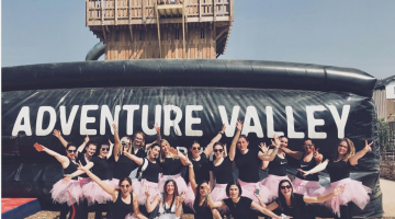 Hen Party in Adventure Valley Durbuy
