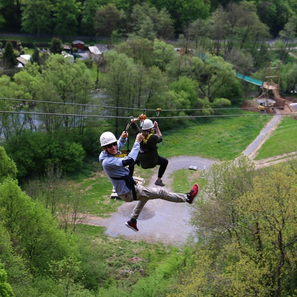 Duo zipline Adventure Valley Durbuy
