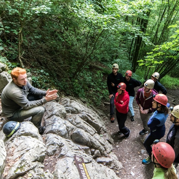 Speleo with guide Adventure Valley Durbuy